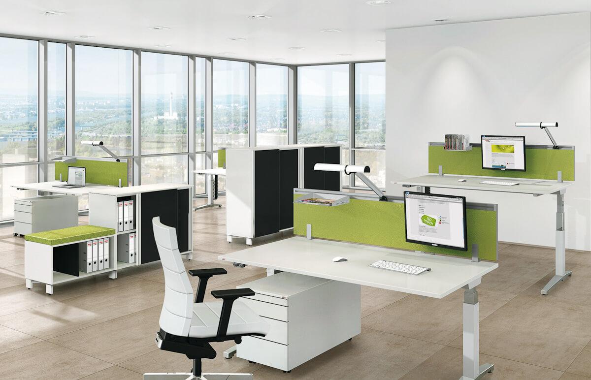 Arbeitsplatz Büromöbel München 16