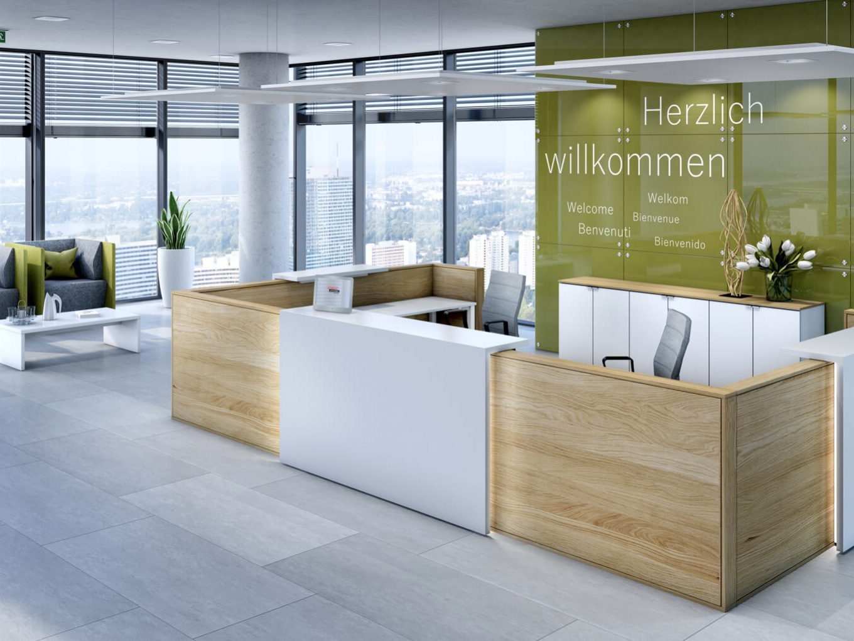 Empfang Büromöbel München