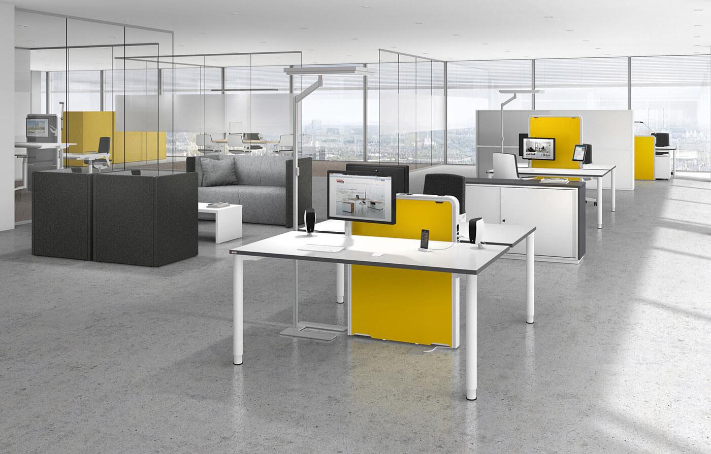 Inspiration Arbeitsplatz Büromöbel München