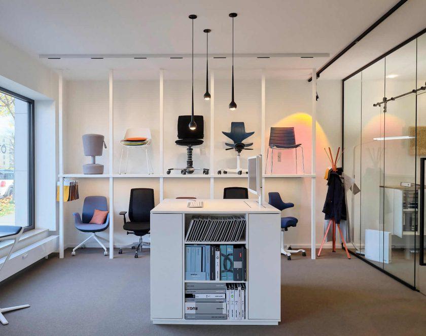 Ausstellung Büromöbel München